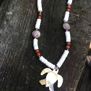 Jewelry - Mother of Pearl Puka Shell Necklace